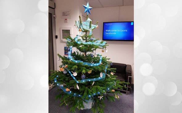 Our Festive and fishy Christmas tree!