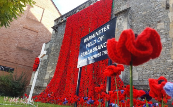 Warminster Town Remembers the Fallen....