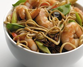 Oriental King Prawn Stir Fry