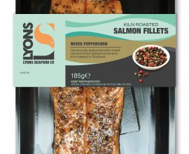 Peppercorn Smoked Salmon Fillets