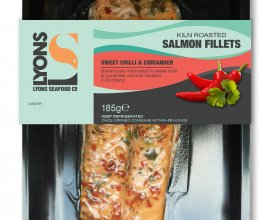Smoked Salmon Fillets with Chilli & Coriander
