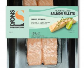 Steamed Salmon Fillets